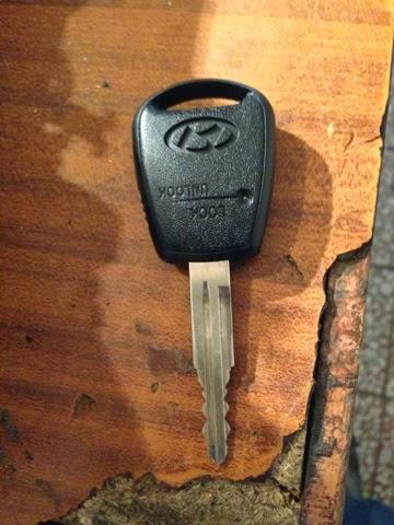 Hyundai Accent Kumandalı Anahtar Yeniden Çıkarma